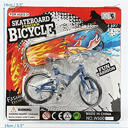 Zinniaya Mini Size Simulation Alloy Finger Bike Children Kid Funnt Mini Finger Bike Toy With Brake Rope Best Birthday Gift