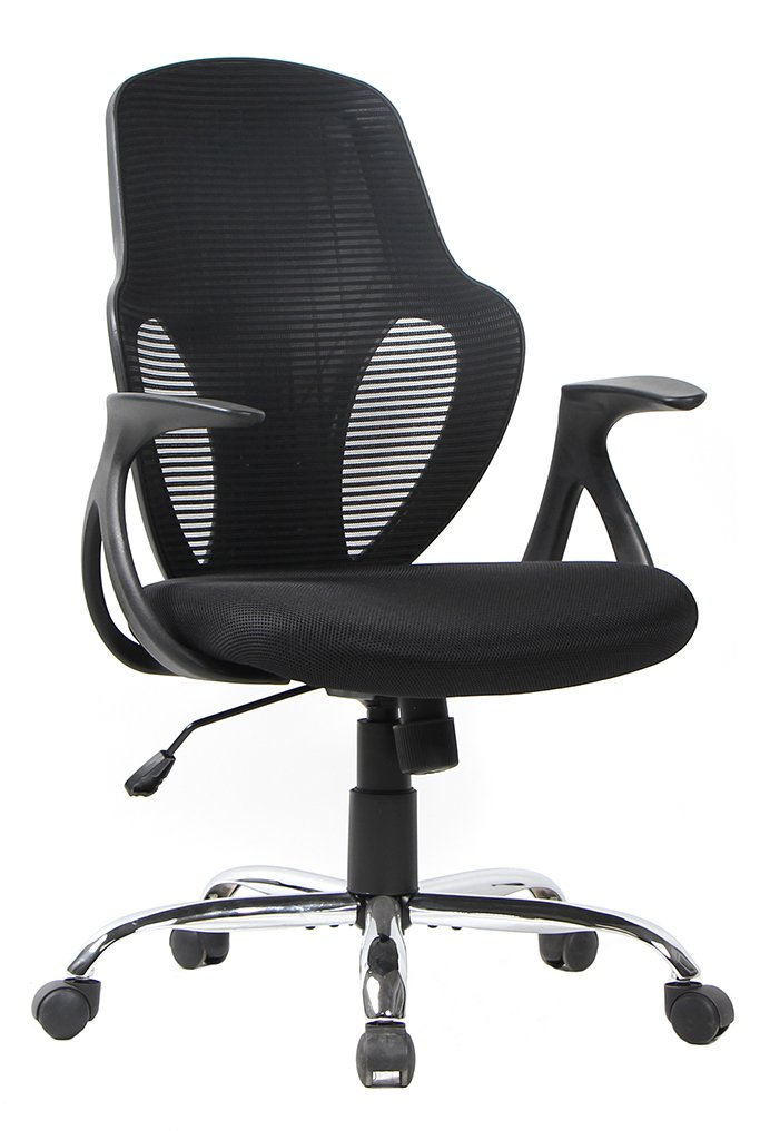 Amazon.com: Smugdesk 1 Mid Back Mesh Ergonomic Desk Computer Swivel Office  Chair Black, Alien Face: Kitchen U0026 Dining