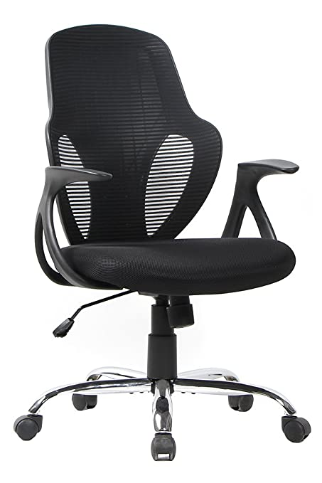 VIVA OFFICE Ergonomic Mesh Swivel Office Chair, Seat Height Adjustable