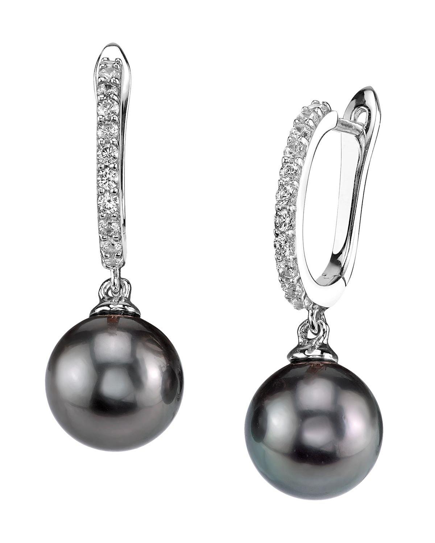 8mm Tahitian South Sea Cultured Pearl Zara Earrings