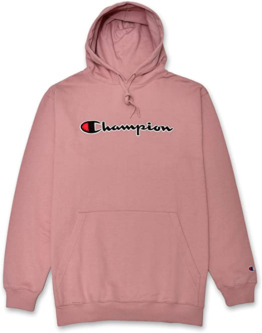 Champion Hoodie Men Big & Tall Embroidered Pullover Hoodies Sweatshirt