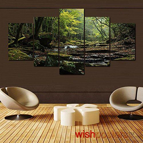 Decorating with multi panel wall art home wall art decor for Home decor 96