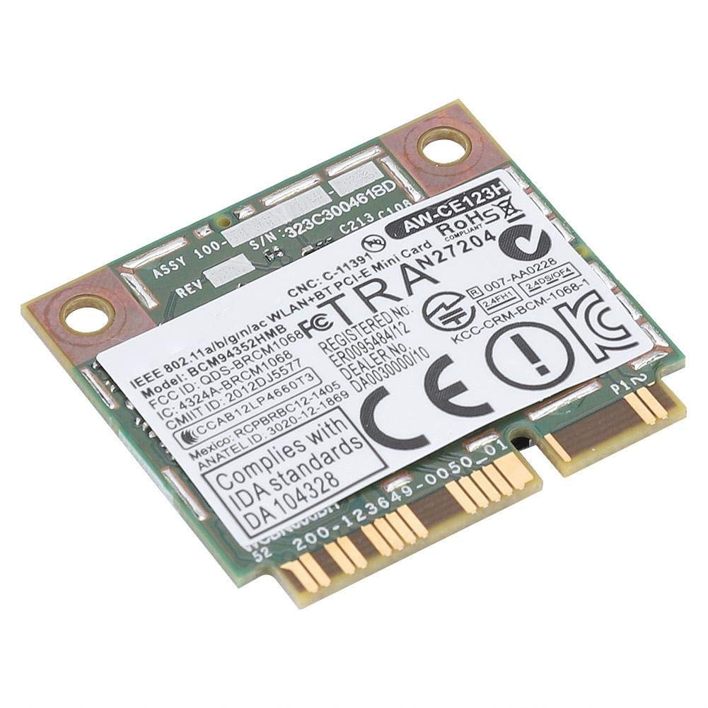 5G Dual-Band PCI-E Card,Mini PCI-E WiFi Wireless Card,for HP//MAC//DELL//Acer,300 Mbps Transmission Rate Wendry WiFi Card,Professional 2.4G