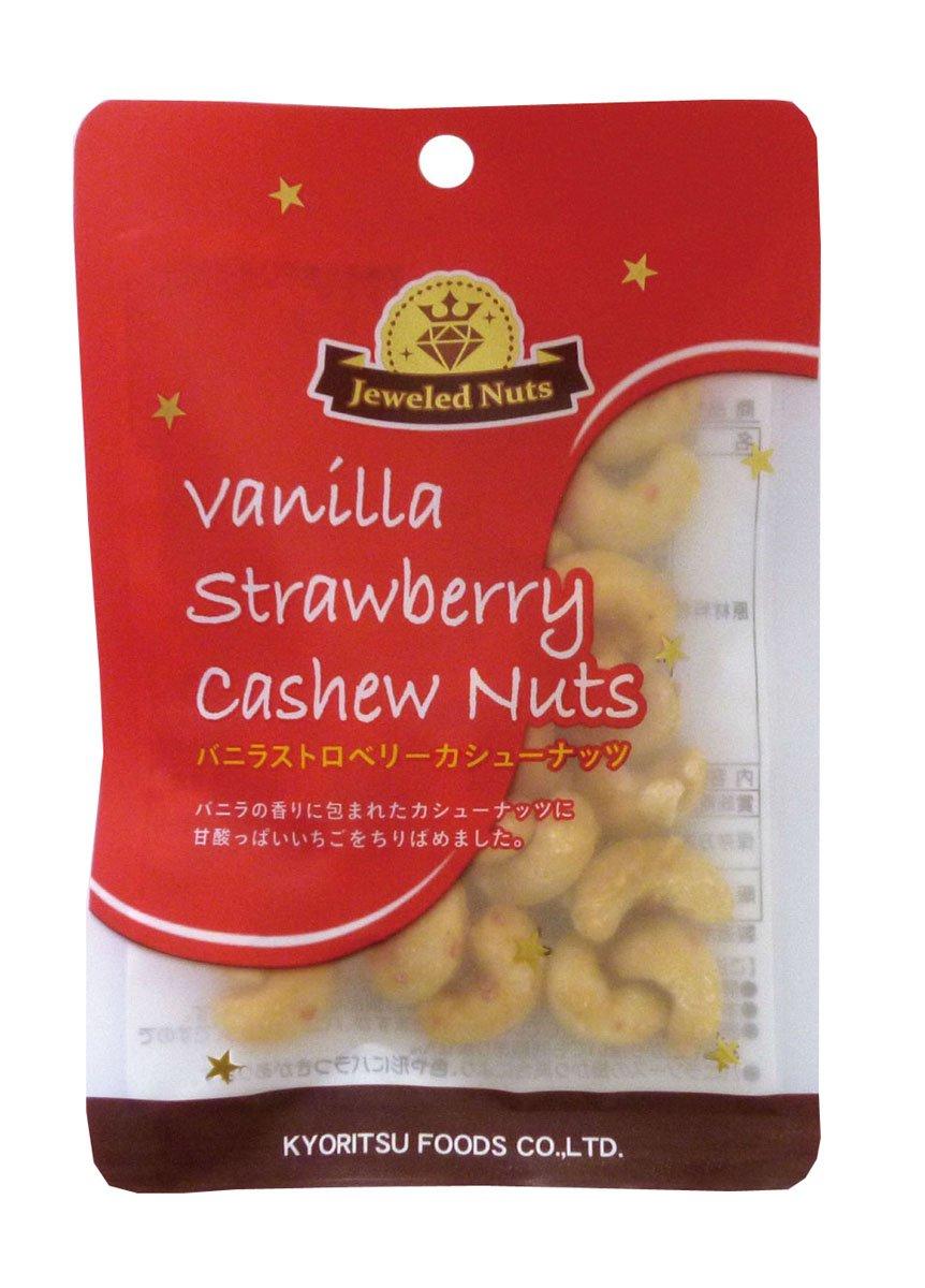 Kyoritsushokuhin JN vainilla de la fresa bolsas de nueces de anacardo 35gX6: Amazon.es: Alimentación y bebidas