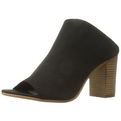 Bos. & Co. Women's Isabella Mule Black Suede Leather 36 EU/5.5-6 M US | Mules & Clogs