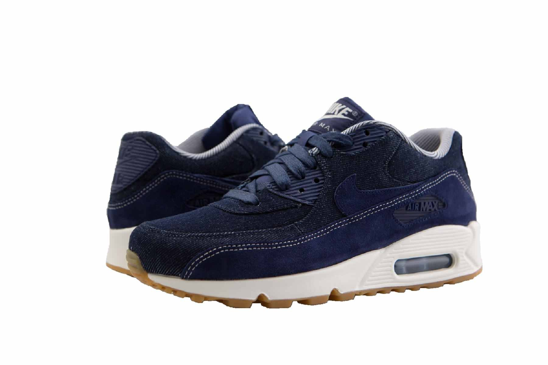 free shipping 73548 dee68 Galleon - Nike Air Max 90 SE Womens Shoes Binary Blue Binary Blue Muslin  881105-401 (9 B(M) US)