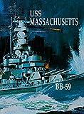 img - for USS Massachusetts book / textbook / text book