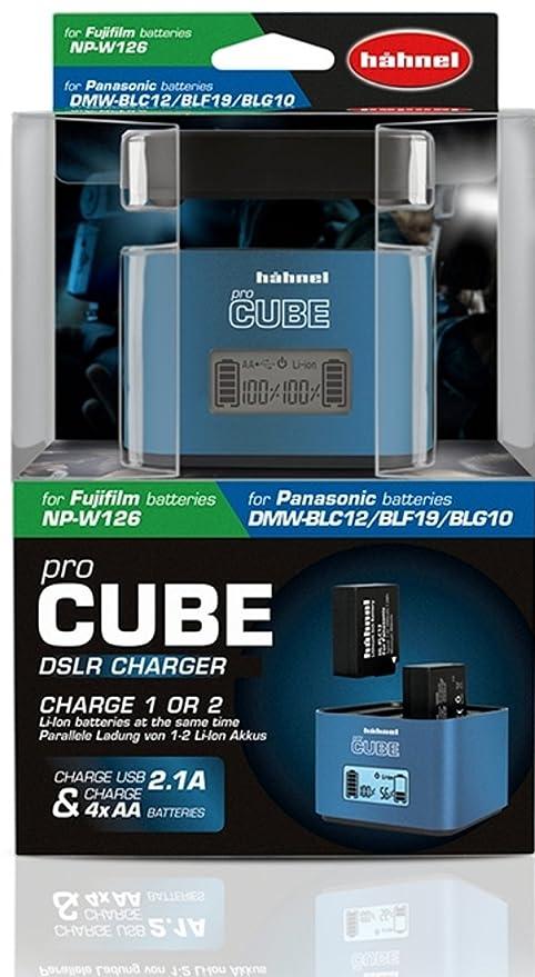 Hahnel 1000.564.0 - Cargador de baterías para Fujifilm/Panasonic ...