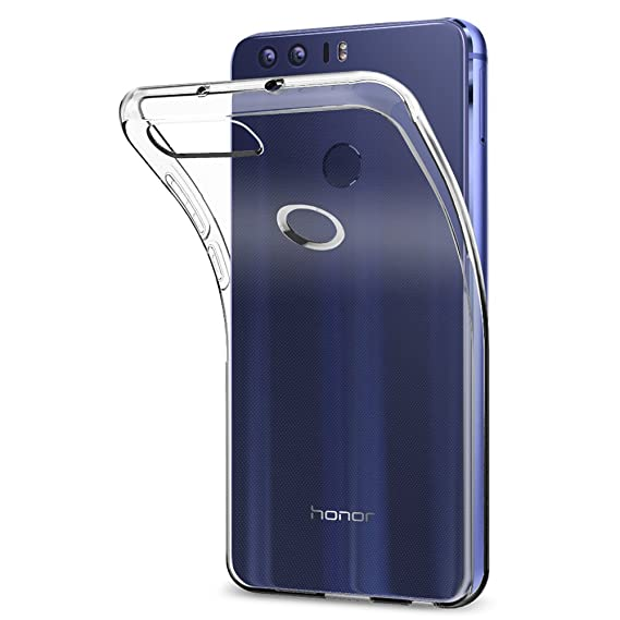 low priced 1a8bd 34528 Spigen Liquid Crystal Designed for Huawei Honor 8 Case (2016) - Crystal  Clear