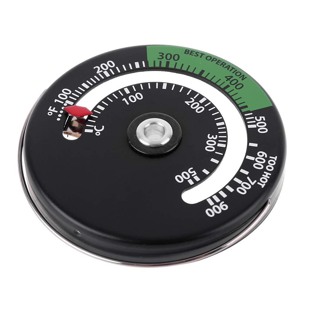 aumenta la eficiencia de R-Weichong term/ómetro magn/ético para vigilar la temperatura de la chimenea Term/ómetro para ventilador de chimenea