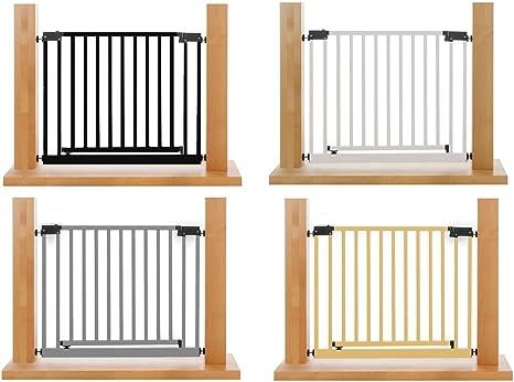 XXL Reja seguridad puertas/escaleras | 95-143 cm | W G3: Amazon.es: Bebé