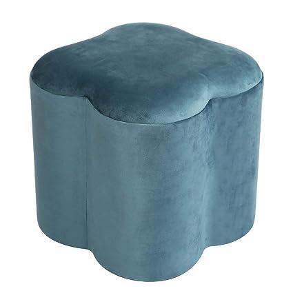 Terrific Amazon Com Adeco Ft0322 1 Modern Velvet Storage Ottomans Ocoug Best Dining Table And Chair Ideas Images Ocougorg