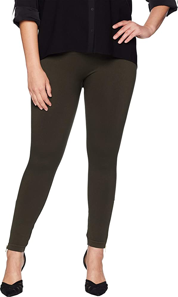 Women S Plus Size Look At Me Now Seamless Side Zip Leggings