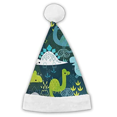 Coring Dinosaur Playing Comfortable And Warm Christmas Hat Trend Hat Cap