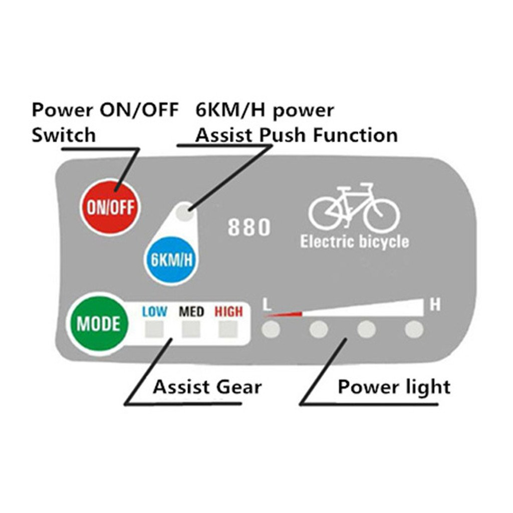 48vdc Led Wiring Diagram Explained Diagrams 12 Volt E Bike 880 Panel Online Schematic U2022 Tail Lights