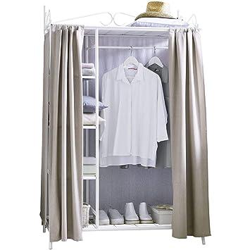 Pureday Metall Kleiderschrank Garderobe Breezy Mit Kleiderstange