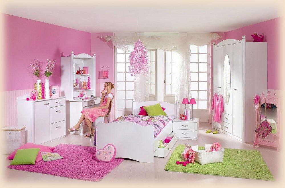 Komplett Kinderzimmer Weiss: Amazon.de: Küche & Haushalt | {Kinderzimmer weiß 12}