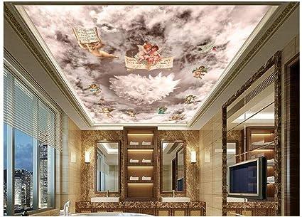 Dream Cloud Sky Angel Custom 3d Wallpaper 3d Ceiling Murals