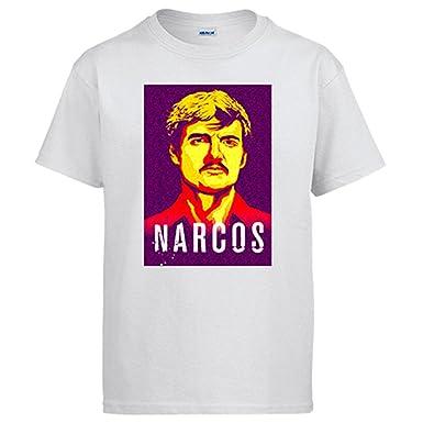 Camiseta Narcos Javier Peña  Amazon.es  Ropa y accesorios a1d91819b5a34