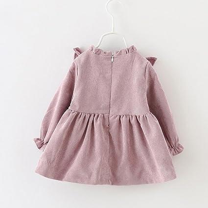 Amazon.com: Dingji Toddler Kids Baby Girls Autumn Fashion Long ...