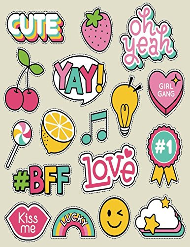 BFF LOVE: Quote Cover Kids Large Ruled Notebook