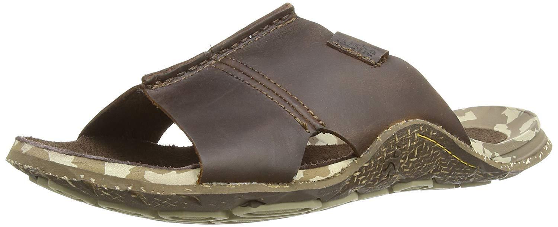 Cushe Mens Leather Slip On Sandals Flip