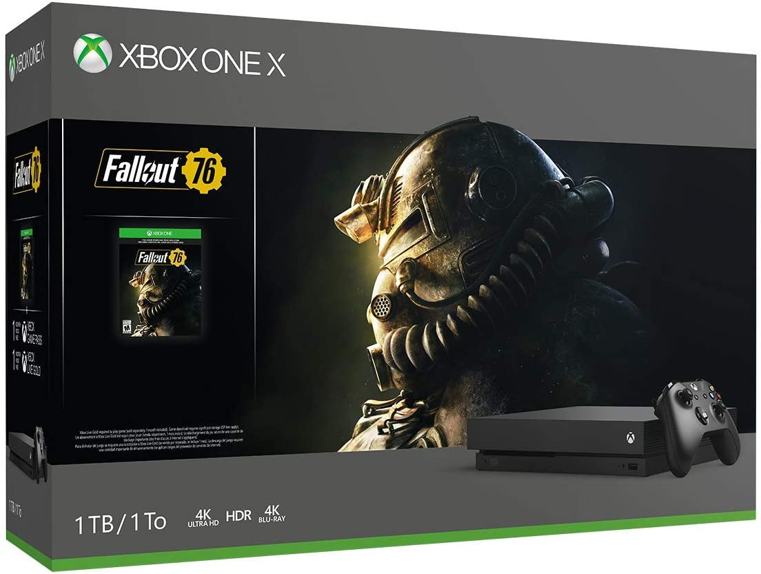 Xbox One X 1TB Console – Fallout 76 Bundle Discontinued Renewed