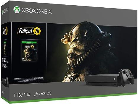 Consola Xbox One X 1 TB, paquete Fallout 76 (suspendido) (cerrada ...