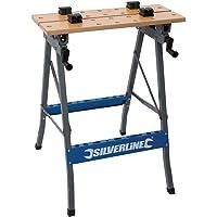 Silverline TB05 - Banco de trabajo resistente
