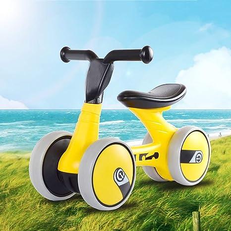 GSAGJyec Bicicleta de Equilibrio para bebés de 1 año, Perfecta como Regalo de Primera Bicicleta o cumpleaños, Juguetes de equitación Seguros para niños de 1 año, Ideal para Bicicleta de bebé: Amazon.es: