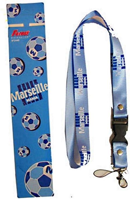 Correa para el cuello para llevar llaves o móvil, Olympique de Marseille: Amazon.es: Deportes y aire libre