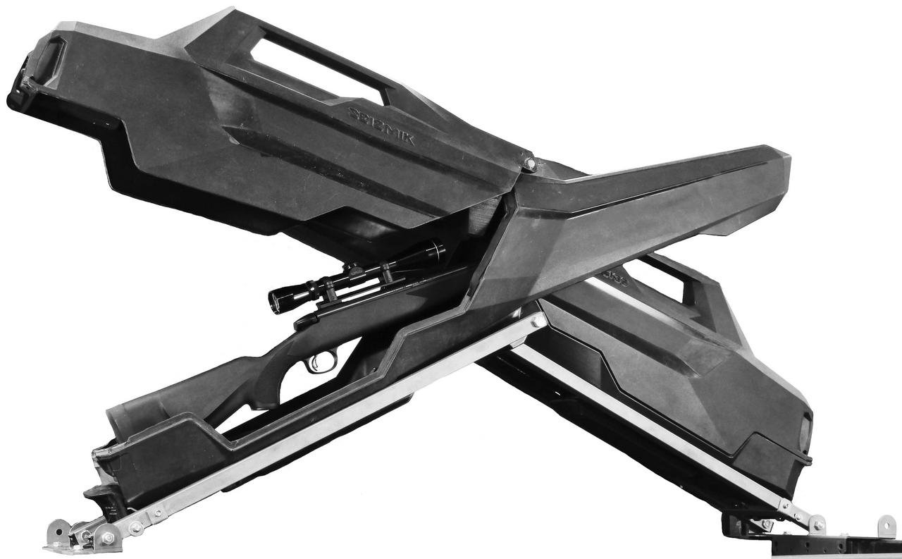 New Seizmik X-Rack Gun Storage System / Gun Case - 2014-2017 Kubota RTV-X1100C UTV