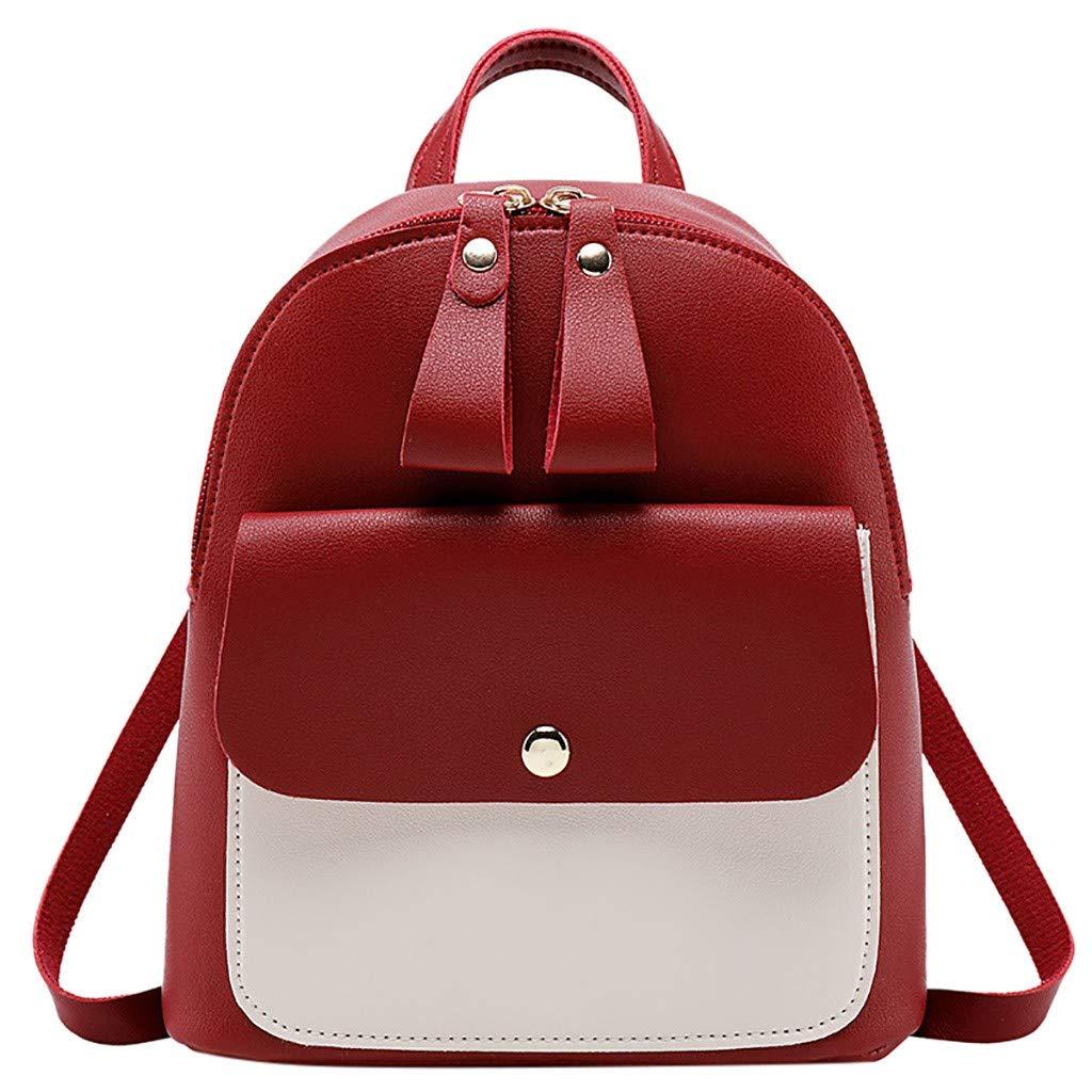 YEZIJIN Fashion Lady Shoulders Small Backpack Letter Purse Mobile Phone Messenger Bag