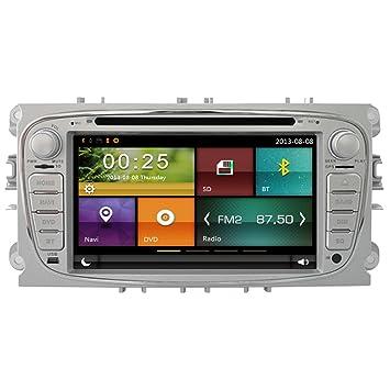 autosion coche reproductor de DVD GPS Radio estéreo unidad central para Ford Mondeo 2007 – 2011