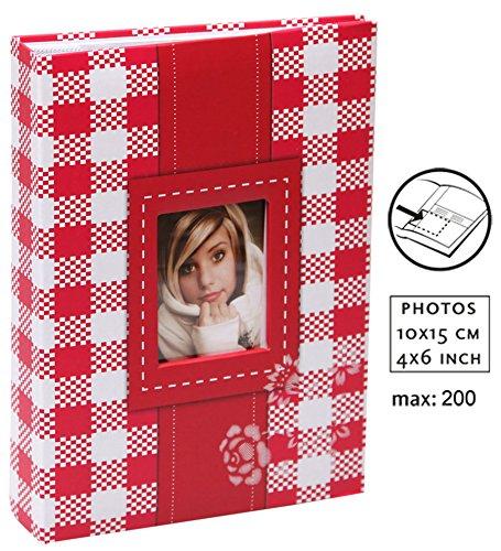 Fresh Colour Einsteckalbum für 100 Fotos in 10x15 cm Einsteck Foto Album