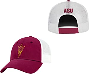 802d3db516f4a Top of the World Arizona State Sun Devils Adult NCAA Team Spirit Relaxed  Fit Meshback Hat