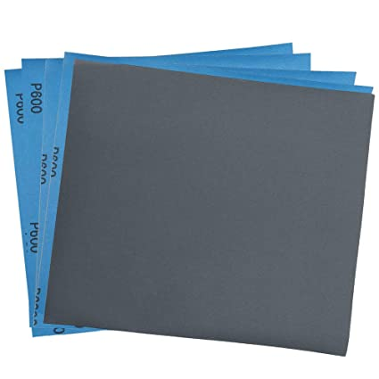 Sandpaper For Metal >> 600 Grit Dry Wet Sandpaper Sheets By Lotfancy 9 X 11 Silicon Carbide Sandpaper For Metal Sanding Automotive Polishing Wood Furniture Finishing