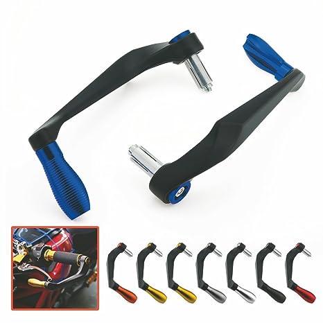 Heinmo Universal New 100% aluminio freno embrague palanca manguitos protector protector de la mano para la motocicleta ...