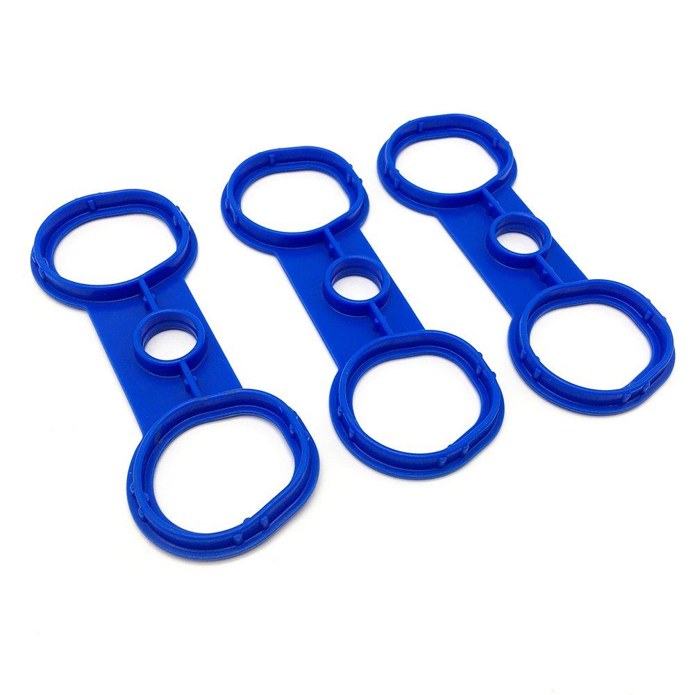 WayJun 11127582245 Valve Cover Gasket Blue for BMW N52 MJ AUTO TECH