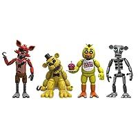 FIVE NIGHTS AT FREDDY'S Five Nights at Freddys Pack de 4 Figuras Set (2'')