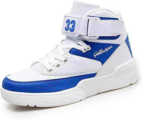 Fashion Men/'s Casual Sneakers Breathable High Top Walking Sport Shoes Athletic