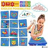 ETI Toys - Engaging Jigsaw Puzzle for Boys and Girls 490 Piece Set for Making Endless Puzzle Combinations! Great for Learning, Developing and Having Fun. Make Your Imagination Today!