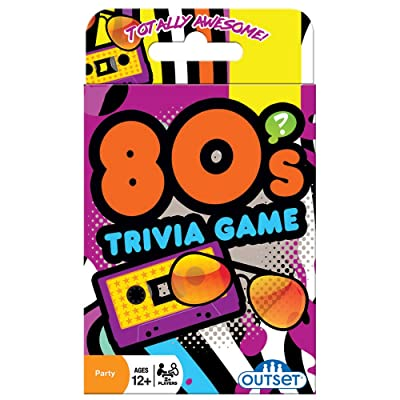 Outset Media 80's Trivia Card Game - Card Game by Cobble Hill Puzzles (19138): Toys & Games