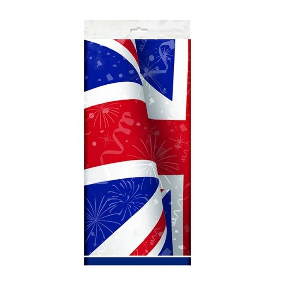 Best Of British Plastic Table Cover British Party Decorations Tableware & Accessories for English Patriotic Party Unique Party UTSG14374_1 PUN29663