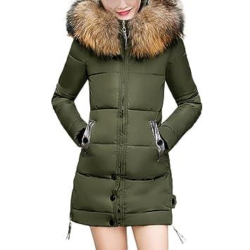 0f8348130 Amazon.com  Kintaz Women s Winter Thicken Puffer Coat with Fur Trim ...