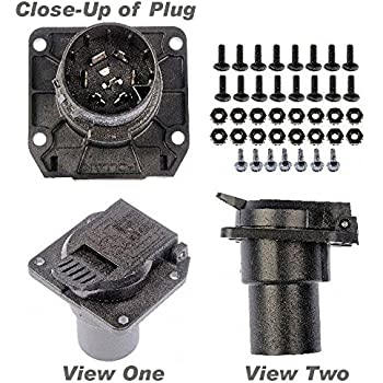 how to connect reese 7 way trailer socket kit