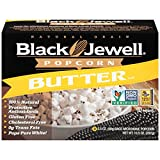 Black Jewell Popcorn Butter Premium Microwave, 3 Count (Pack of 6)