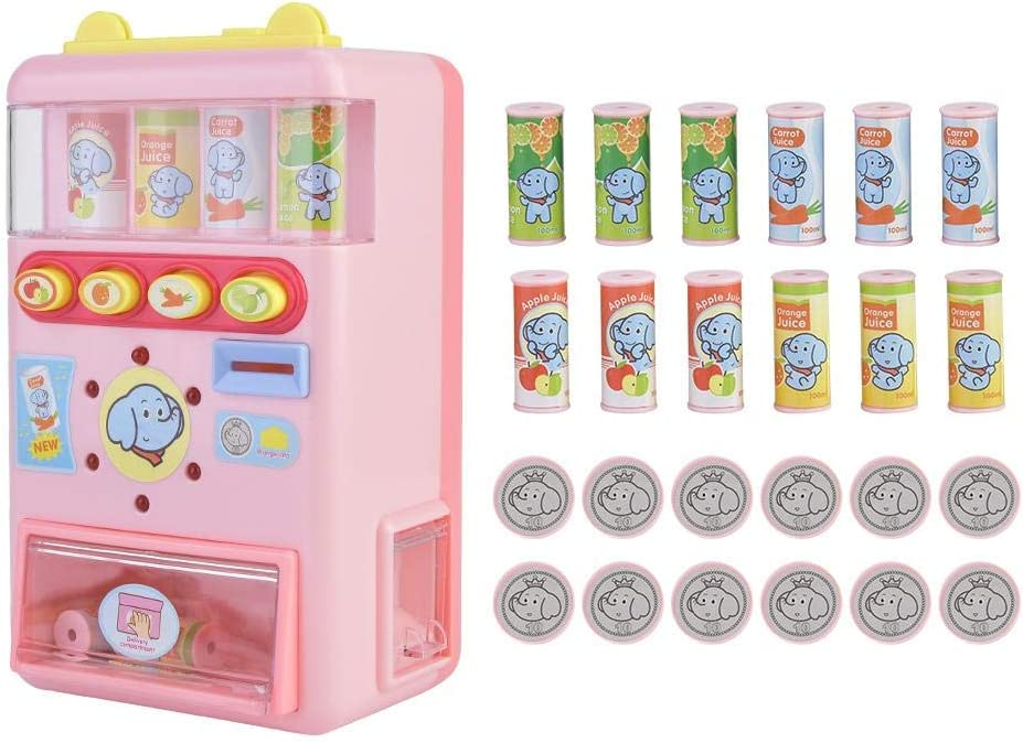 Taidda Juguetes para Juegos de Compras, máquina expendedora de estimulación Duradera Educación para niños Aprendizaje Juego de Roles Juguetes para Juegos de Compras Regalos para niños Niñas