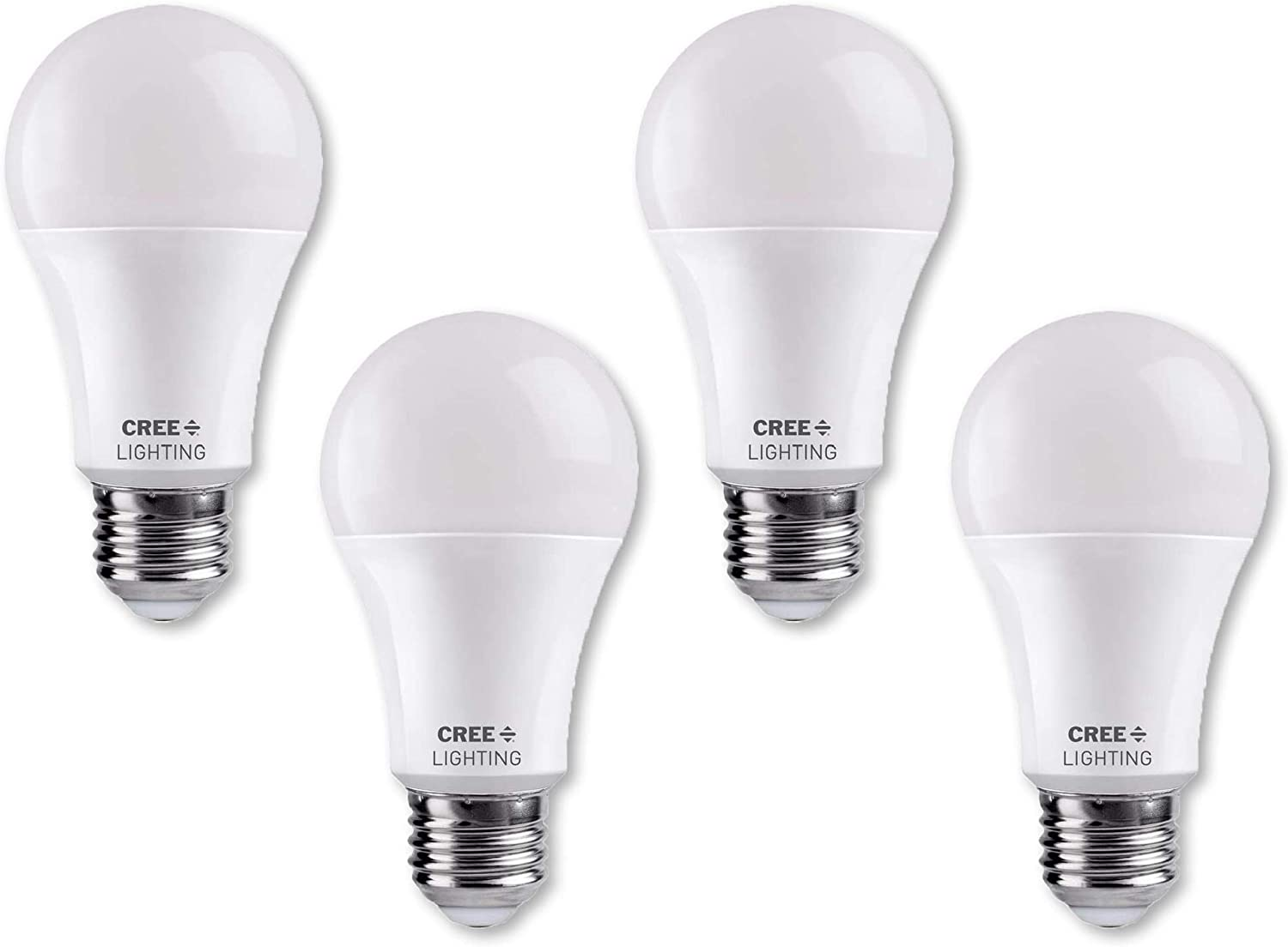 Cree Lighting, TA21-20050MDFH25-12DE26-1-11006S-T, A21 125W Equivalent LED Bulb, 2000 lumens, Dimmable, Daylight 5000K, 25,000 hour rated life, 90+ CRI | 4-Pack