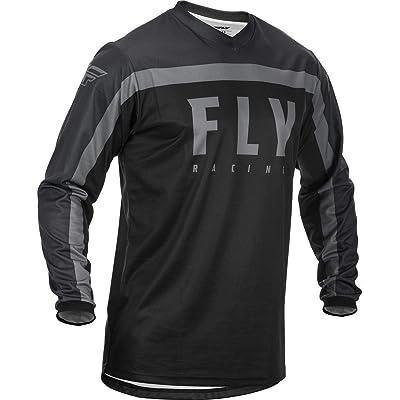 Fly Racing 2020 F-16 Jersey (X-Large) (Black/Grey): Automotive